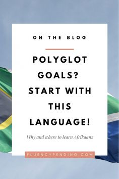 Did you know that Afrikaans is one of the easiest languages to learn? Knowing Afrikaans can also help you learn Dutch, Flemish and German. Find out why and where to start learning Afrikaans. Best Language Learning Apps, Learning Languages Tips, Spanish Language Learning, Learning Resources, Quotes Dream, Life Quotes Love, Wisdom Quotes, Quotes Quotes, Language Study