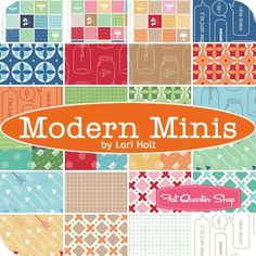 Modern Minis YardageLori Holt for Riley Blake Designs | Fat Quarter Shop