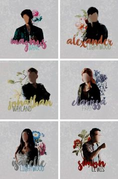 Shadowhunters characters tumblr #clace #sizzy #malec Shadowhunters Series, Shadowhunters The Mortal Instruments, Livros Cassandra Clare, Shadow Hunters Tv Show, Jamie Campbell Bower, Matthew Daddario, Alec Lightwood, Clace, A Series Of Unfortunate Events
