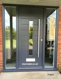 Image Result For Front Door With Glass Panels Contemporary Front Doors Wide Front Doors House Front Door