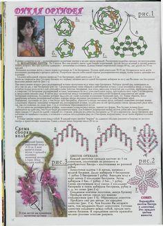 Дикая орхидея | biser.info - всё о бисере и бисерном творчестве