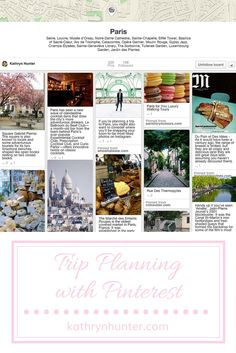 Trip planning can be simple. Learn my secrets for using Pinterest to find the best things to see, do, and Instagram.