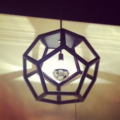 Style Spotter Crystal Gentilello spotted this striking Visual Comfort pendant at #HPMKT