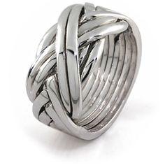puzzle ring, like eragons?