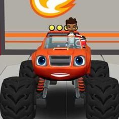 blaze monster truck pic | Doc McStuffins: Mobile Clinic Rescue