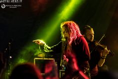 Jonne and Tuomas on stage at Fosch Fest in Bagnatica, Italy, on 24th July 2016