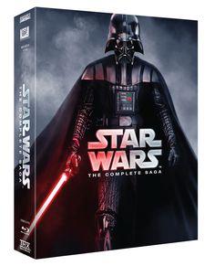 Star Wars: Box - 1-6 (Blu-ray) (9 disc)