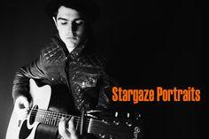 Stargaze Portraits.  Matthew Lowth on guitar