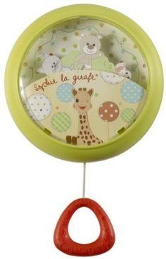 Le Carrousel de Sophie la Girafe, c'est LE cadeau coup de cœur pour ma p'tite puce.