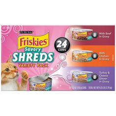 Friskies Wet Cat Food Variety Packs of 24 * You can get additional details at the image link.