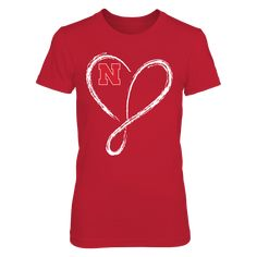 Love Nebraska T-Shirt, Witness some of the best women's college volleyball in the country with the Nebraska Lady Huskers Volleyball team. Husker volleyball is almost fanatical in Big Red country with good reason. The Lady Huskers rule the floor when it comes to NCAA volleyball and the fans LOVE them!  The Nebraska Cornhuskers Collection, OFFICIAL MERCHANDISE  Available Products:          District Women's Premium T-Shirt - $29.95 Gildan Women's T-Shirt - $27.95 Gildan Unisex T-Shirt - $25.95…