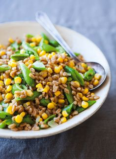 Farro with Fresh Cor