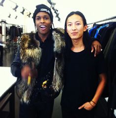 Mr Wang and A$AP Rocky