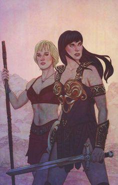 Xena Warrior Princess Vol 3 #4 Cover B Incentive Jenny Frison Virgin Cover
