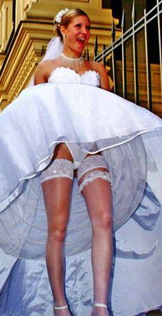 91 Great Brides On Their Wedding Day Flashing Accidentally