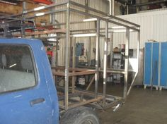 Teacher Builds DIY Off Road Toyota Tacoma Camper 0012