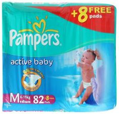 Attractive Deal on Pampers Active Baby Medium Size Diapers (90 count), www.amazon.in/b?node=1592905031&ref_=as_acmain_dotdamp%3B&tag=sdhongadi-21