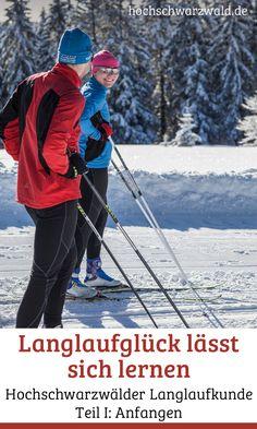 Langlaufen zu lernen ist nicht schwer. Um es noch leichter zu machen gibt es für Einsteiger die Hochschwarzwälder Langlaufkunde mit Tipps rund um den Wintersport, z.B. zur richtigen Technik oder dem besten Outfit. Health Fitness, Sports, Outfit Winter, Walking, Training, Outdoor, Cross Country Skiing, Fashion Styles, Ski Trips