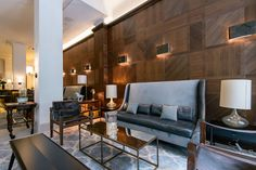 new boutique hotel lobby - Google Search