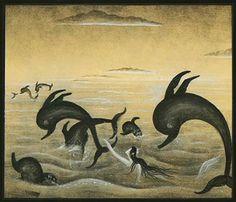 """Kay Neilsen illustration for """"The Little Mermaid""""."""