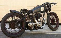 "Bobber Inspiration | Royal Enfield #bobber ""No5"" | Bobbers and Custom Motorcycles | July 2014"
