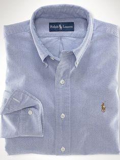 Classic-Fit Basic Oxford - Polo Ralph Lauren Classic-Fit  - RalphLauren.com