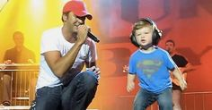 When This Little One Joins Luke Bryan On The Stage, The Crowd LOST It!