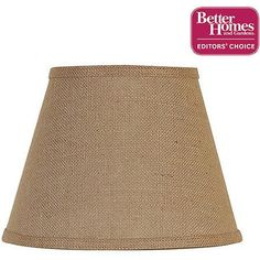 Charming Better Homes And Gardens Accent Lamp Shade, Burlap   Walmart.com