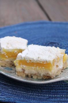 Lemon Lush Bars