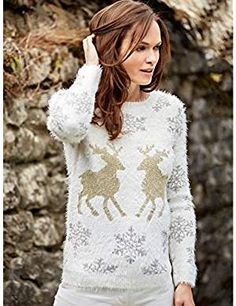 M&Co - Shop online and get the latest looks for women, men, kids and the home plus free delivery when you spend or more M&CO Womens Christmas Jumper, Christmas Jumpers, Red Panda, Jumpers For Women, Looking For Women, Nightwear, Shirt Blouses, Birdcages