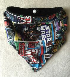 Star Wars Bandana Bib for Baby & Toddler by peaceloveandbabyshop