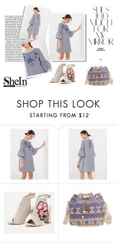"""SheIn"" by musicajla ❤ liked on Polyvore featuring Post-It and Rika"