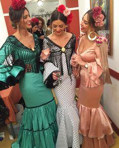 "4,251 Me gusta, 39 comentarios - Sandra 💥 (@sandra_arrebola) en Instagram: ""Ya estamos la tres Marías en el real !!! ❤️"" Sandro, Locks, Havana Nights, Bridesmaid Dresses, Wedding Dresses, Dance Costumes, Peplum Dress, Spain, Wedding Decorations"