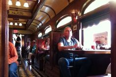 day 142: Frank's Diner, built in an old train car
