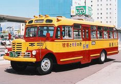 Bus Stop Classics: Japan's Bonnet Buses – A Nostalgic Reminder of an Earlier, Less Hectic Time…. Heavy Duty Trucks, Heavy Truck, First Bus, Hakodate, Post War Era, Buses And Trains, Japan Today, Mini Bus, Cab Over