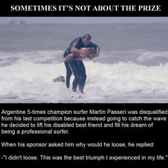 Sometimes It's Not About The Prize...This Guy Is Awesome people amazing story interesting facts stories heart warming good people