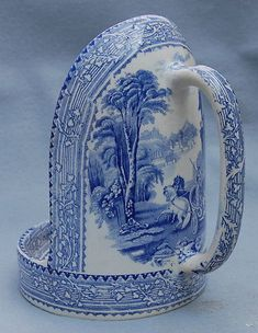 symphony in blue & white . X ღɱɧღ Blue And White China, Blue China, Love Blue, Blue Dishes, White Dishes, Himmelblau, Blue Rooms, Blue Plates, White Decor