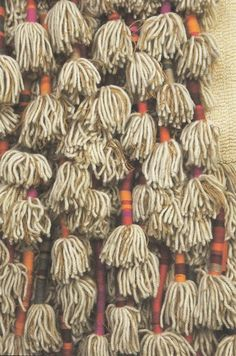 textile + trim inspiration : from the ICA catalogue from the Sheila Hicks show