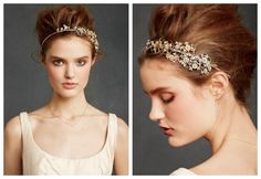 Wedding Headbands For A Vintage Rustic Wedding - Rustic Wedding Chic