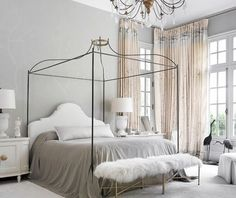South Shore Decorating Blog: 50 Favorites for Friday #170 - Bedroom Edition. Maybe my next bedroom???