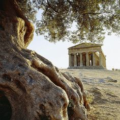 Valley of the Temples, Agrigento, Sicily (Italy).