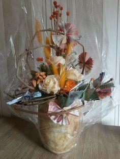 two lives Einklang / Werkstatt-Atelier: Ein Hochzeitsgeschenk in (Geld-)Blüten...