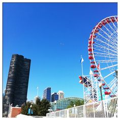 Navy Pier...Had sooo much fun there with my cousin and his gf I <3 Chicago!!!