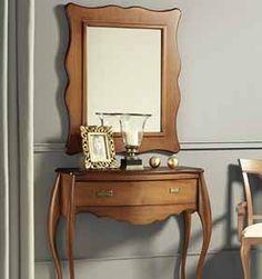 Tienda online de Muebles y Decoración - DecoracionBeltran Vanity, Mirror, Furniture, Home Decor, Glass Furniture, Classic Furniture, Interior Design, Country Bedrooms, Modern Bedrooms
