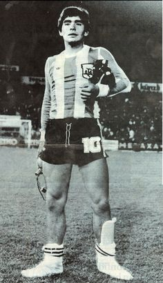 Diego Armando Maradona at 18 19-year-old Diego Maradona, 1979.
