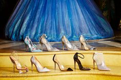 Are You Dreaming of These #Cinderella Luxury Shoes? #CinderellaEvent Check out all 9 Designers Here!
