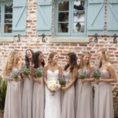In love with this lavender and cream color palette from this oh so romantic affair by Stephanie A Smith Photography!