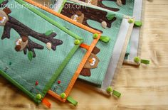 "Textile organizers ""Forest story"""