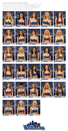 Time to meet the new 2013-14 Atlanta Hawks Cheerleaders!