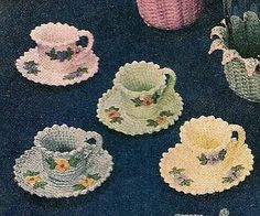 Lindys Crochet Corner: Cozies, Coasters, and Cups... Oh My!